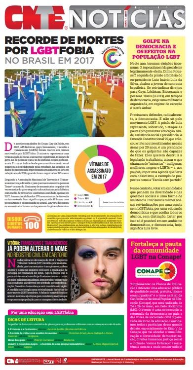 Jornal Mural LGBT 2018
